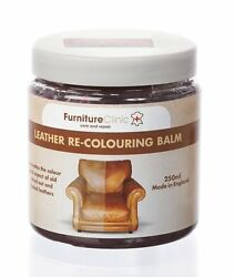 New 250 ml Leather Recoloring Balm Interior Car Bags Furniture Leathercraft Care