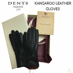 DENTS Ladies Premium Kangaroo Leather Cashmere Lined Gloves Winter Gift 77-0037