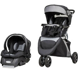Even flow Advanced Sensor Safe Epic Travel System Stroller Car Seat Lift Fold   $280.00