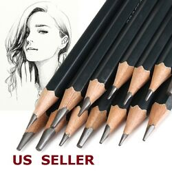 Sketch Art Drawing Pencil Sketching Graphite Artist Sketch Soft Set Of 14 $9.45