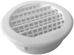 15-Pack 2 in. White Round Soffit Vent Intake Exhaust Mesh Bug Screen Ventilation