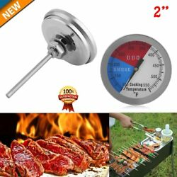RWB BBQ CHARCOAL GRILL WOOD SMOKER OVEN PIT TEMP GAUGE THERMOMETER 2PCS-2