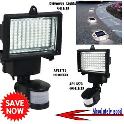 3 60 100 LED Solar Powered Motion Sensor Security Flood Light Outdoor Light LOT#