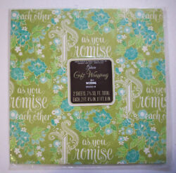 Vintage Wedding gift wrap wrapping paper As you Promise each other $9.99