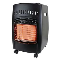 Portable Propane Radiant Heater 18000 BTU Compact Infrared Space Heaters