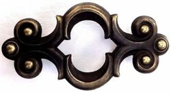 Brass Mid Century Modern Antique Hardware Drawer Pull 3 34