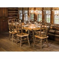 Rustic Hickory Trestle Style 72