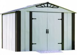 Designer Series 10 ft. x 8 ft. Steel Storage Shed