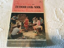1950 VINTAGE MAJESTIC HUNTINGTON BOOK OUTDOOR FIREPLACE DESIGNS HOW TO BUILD