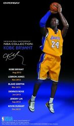 Officially Licensed NBA Real Masterpiece Kobe Bryant 13 inch Action Figure