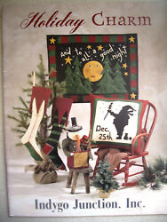 Holiday Charm Felted Wool Seasonal Projects Indygo Junction Inc. IJ1059