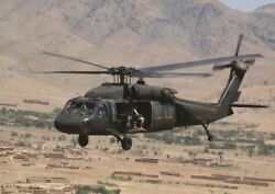 BLACK HAWK HELICOPTER A3 PICTURE ART POSTER PRINT GZ040 $11.49