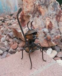 One Golfing Ant   Made in Mexico   Outdoor Safe  Office or Garden Decor