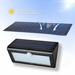 Solar Security Light LONRIC 38 LED Outdoor Solar Energy Motion Sensor Light wit