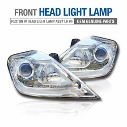OEM Parts Front Head Light Lamp Assy Left Right for SSANGYONG 2013 - 17 Rexton W