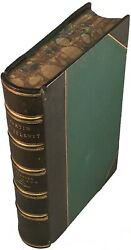 MARTIN CHUZZLEWIT - Charles Dickens - 1st Edition - HC - VG+