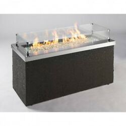 Outdoor Fire Pit Propane Outdoor Living Patio Fire Pits Fireplace Rectangular