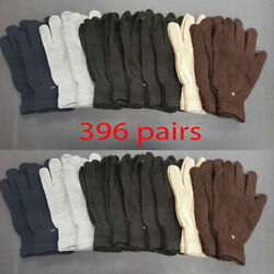 396pairs MEN'S WOMEN XL MAGIC WINTER SNOW WARM KNITTED GLOVES WHOLESALE LOT Xmas