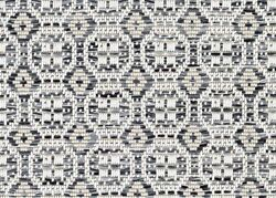 Pelican Island Silver Custom Cut Economy Indoor Outdoor Carpet Patio Area Rugs