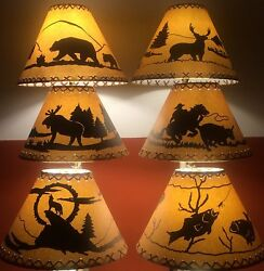 Rustic Lamp Shades Listed by Base Diameter Scroll Down For Sizing Options $29.00