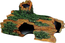 Exotic Environments Hollow Log by Blue Ribbon Pet Products PartNo EE-1609 BE