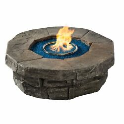 Outdoor Gas Burning Fire Pit 42
