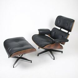 1950's Herman Miller Eames Lounge Chair & Ottoman Rosewood Brand New Cushions!
