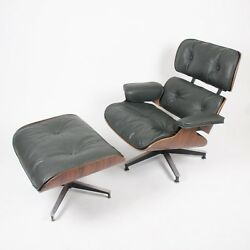 1959 Herman Miller Eames Lounge Chair & Ottoman Rosewood Brand New Cushions!