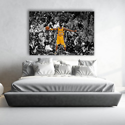 Poster Mural Kobe Bryant Lakers Basketball  Choose Your Size  Canvas