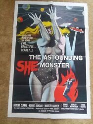 Astounding she monster poster original