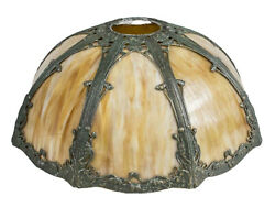 Antique Lamp Shade Slag Glass Gorgeous Home Decor $790.92
