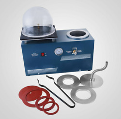 Jewelry Lost Wax Cast Combination Vacuum Investing Casting Investment Machine b