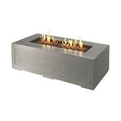 Cove Linear Gas Fire Pit w Glass Burner Cover & Glass Guard  CV-1242 NG or LP