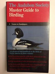 The Audubon Society Master Guide To Birding 1 Loons to Sandpipers Book 1983 1st