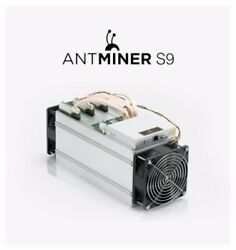 BitMain AntMiner S9 - February 2018 Batch - In-Hand - Brand New - Factory Sealed