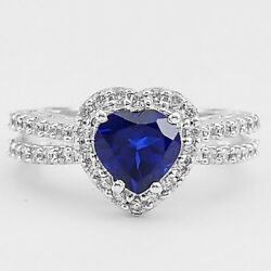 Simulated Tanzanite 925 Sterling Silver Ring Jewelry Size 6-9 DGR1070_D