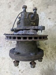 OS FRONT WHEEL HUB CW KING PIN - REMOVED FROM IVECO 75-E-170