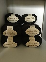 debbie bliss cashmerino aran 10 Skeins Chocolate Brown Discontinued Color New