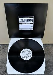COIL – Astral Disaster 1st Ed Black Vinyl TEST PRESSING 1999 Ltd 15 UBER RARE!