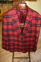 Classic Gianni Versace Soft Italian Yarn cashmere wool Jacket. Amazing. USA 46