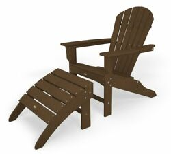 Trex Outdoor Furniture TXS117-1-TH Cape Cod 2-Piece Adirondack Seating Set Tree