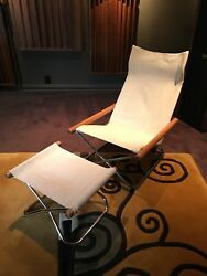 1960's vintage folding mid century modern Japanese lounge chair *NEW PRICE*