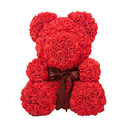 The Rose Bear for Birthday Anniversary Mother#x27;s Day Graduation Flower Gift $59.95