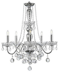 Royal Collection 5-Lights Crystal Chandelier