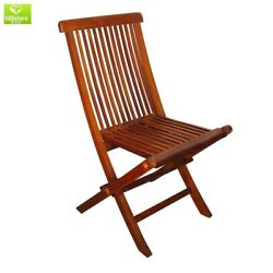 Lounge Folding Side Chair Outdoor Patio Porch Garden Furniture Pool All Weather