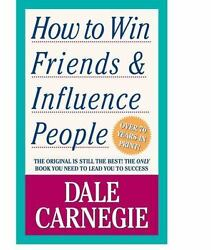 How to Win Friends and Influence People by Dale Carnegie a paperback book $9.44
