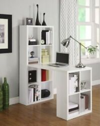 Home Hobby Craft Table White Cabinet Sewing Desk Supplies Storage Kids Office