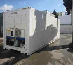 30 Feet Freezer Container Customized Mobile Cold Storage Cell Container  Reefer