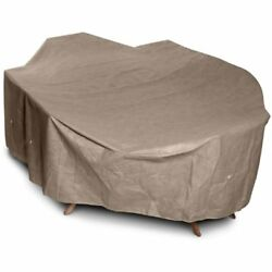 KoverRoos Patio Furniture Covers III 31362 Large High Back Dining Set Cover 112