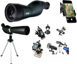 HD 150X TELESCOPE FULL SIZE TRIPOD LUNAR AND FOR STAR OBSERVATION FAST SHIPPING $71.78
